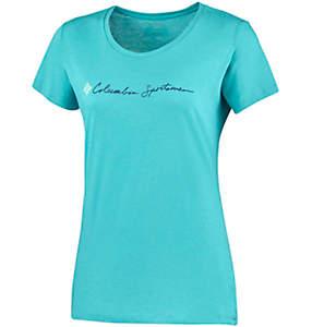 T-shirt à manches courtes CSC Script Logo™ Femme