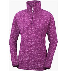 Women's Glacial™ Fleece III Print Half Zip
