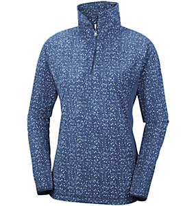 Women's Glacial™ Fleece III Print Half Zip