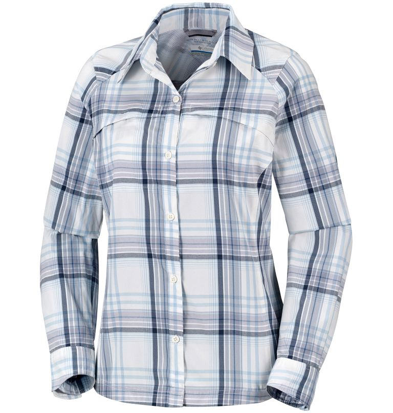 Women's Silver Ridge™ Plaid Long Sleeve Shirt Women's Silver Ridge™ Plaid Long Sleeve Shirt, front