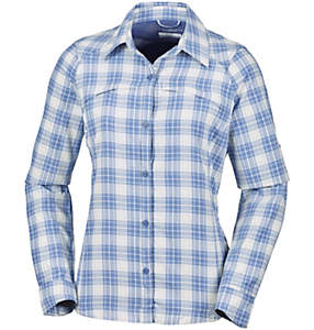 Silver Ridge™ Plaid Long Sleev