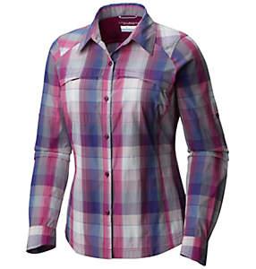Chemise manches longues à carreaux Silver Ridge™ Femme