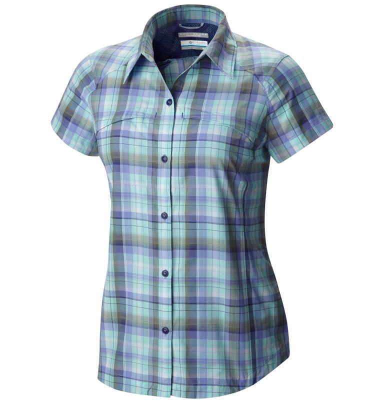 Women's Silver Ridge™ Multi Plaid Short Sleeve Shirt Women's Silver Ridge™ Multi Plaid Short Sleeve Shirt, front