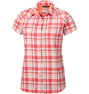 Women's Silver Ridge™ Multi Plaid Short Sleeve Shirt , front