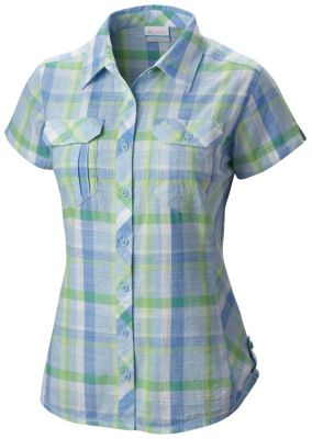 Women 39 s camp henry short sleeve shirt for Women s long sleeve camp shirts