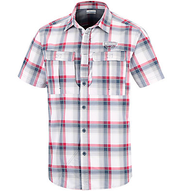 Men's Cascade Explorer™ Plaid Short Sleeve Shirt , front