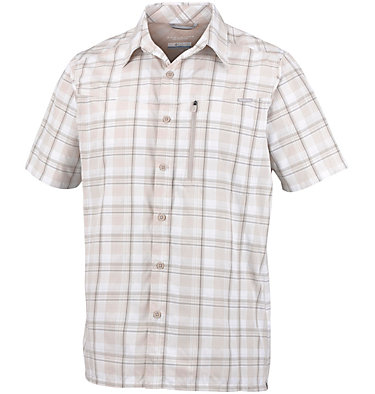 Men's Silver Ridge™ Plaid Short Sleeve Shirt , front