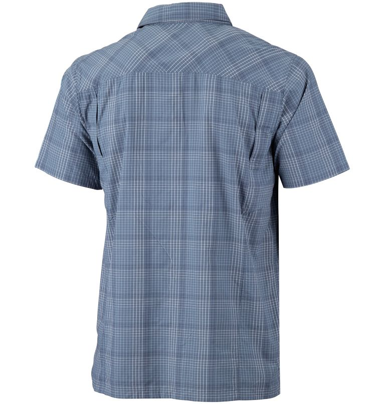 Men's Silver Ridge™ Plaid Short Sleeve Shirt Men's Silver Ridge™ Plaid Short Sleeve Shirt, back