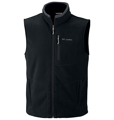 Men's Fast Trek™ Fleece Vest , 3/4 front