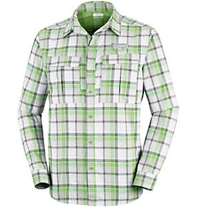 Men's Cascades Explorer™ Plaid Long Sleeve Shirt
