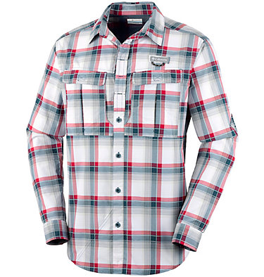 Men's Cascades Explorer™ Plaid Long Sleeve Shirt , front
