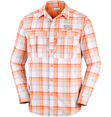 Camicia a maniche lunghe a quadri Cascades Explorer™ da uomo , front