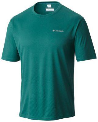 4b8d8cf7a Men's Zero Rules Cooling Crew Neck Shorts Sleeve Shirt | Columbia.com
