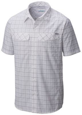 Men's Silver Ridge™ Multi Plaid Short Sleeve Shirt | Tuggl