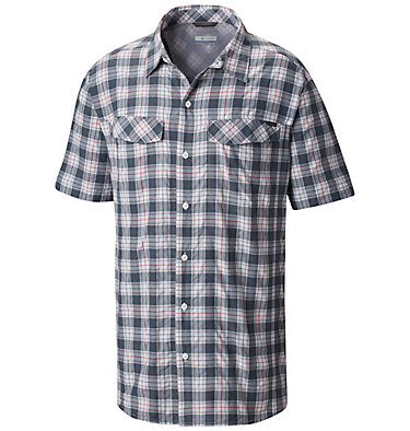 Men's Silver Ridge™ Multi Plaid Short Sleeve Shirt , front