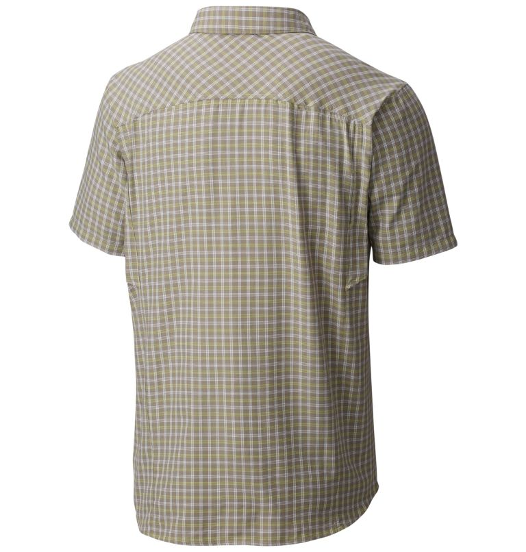 Men's Silver Ridge™Multi Plaid Short Sleeve Shirt Men's Silver Ridge™Multi Plaid Short Sleeve Shirt, back