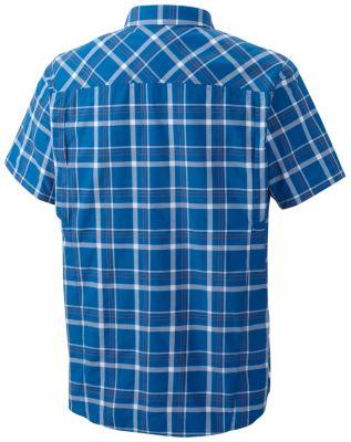 Chemise manches courtes à carreaux multiplesSilver Ridge™ Homme