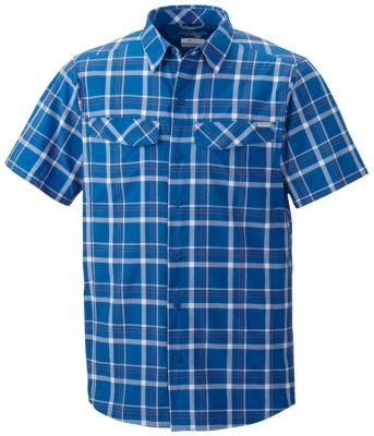 Men's Silver Ridge™Multi Plaid Short Sleeve Shirt