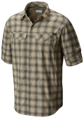 f0741d1b2628b Men s Silver Ridge Plaid Long Sleeve Shirt