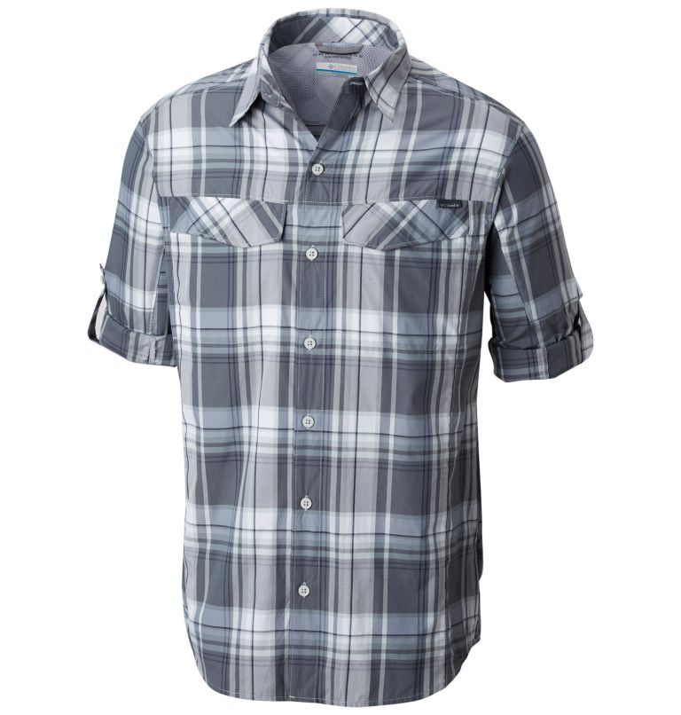Men's Silver Ridge™ Plaid Long Sleeve Shirt Men's Silver Ridge™ Plaid Long Sleeve Shirt, a1