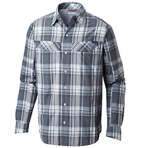 Chemise à carreaux à manches longues Silver Ridge™ Homme