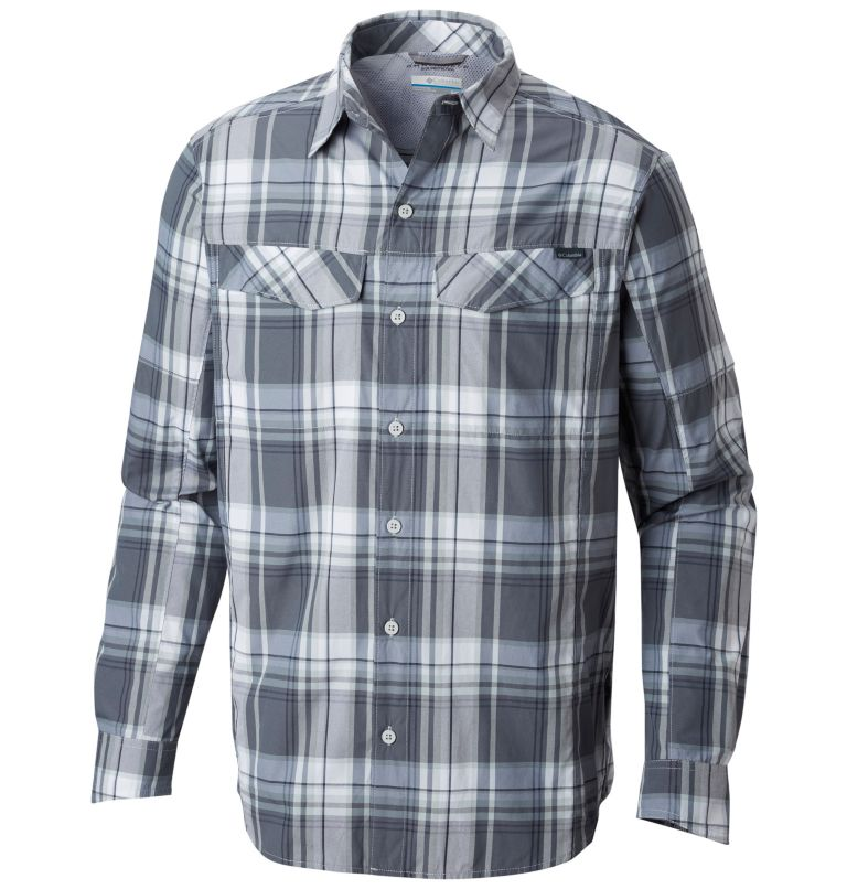 Men's Silver Ridge™ Plaid Long Sleeve Shirt Men's Silver Ridge™ Plaid Long Sleeve Shirt, front