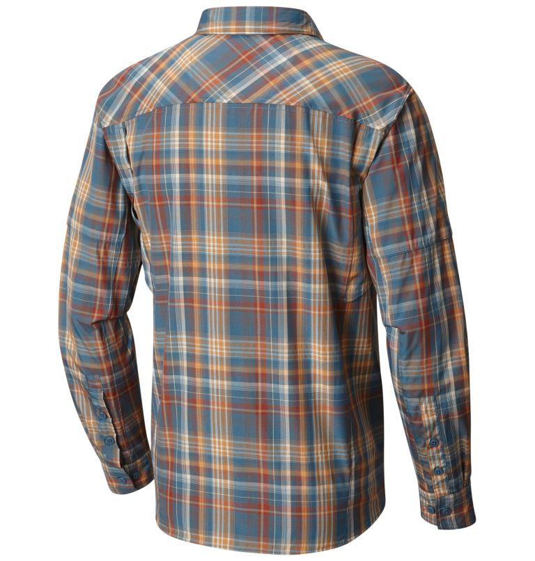 Men's Silver Ridge™ Plaid Long Sleeve Shirt Men's Silver Ridge™ Plaid Long Sleeve Shirt, back