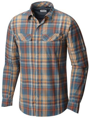 506abc170d6 Men s Silver Ridge Plaid Long Sleeve Shirt