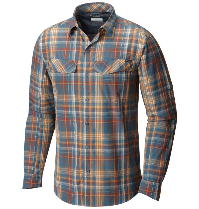Men's Silver Ridge™ Plaid Long Sleeve Shirt Men's Silver Ridge™ Plaid Long Sleeve Shirt, front