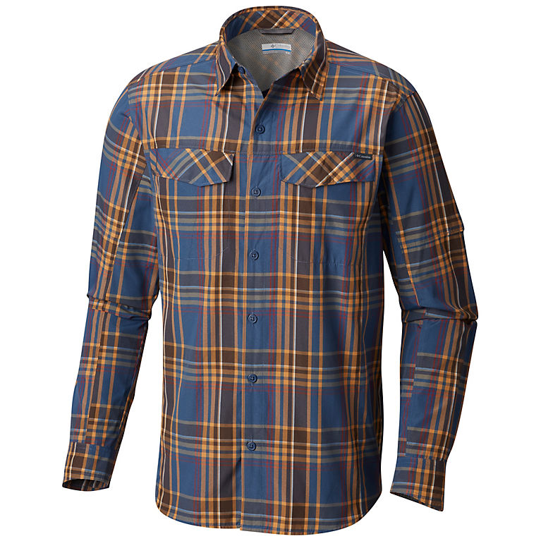 23a2899239d Men's Silver Ridge™ Plaid Long Sleeve Shirt | ColumbiaSportswear.co.uk