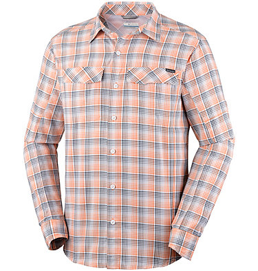 Men's Silver Ridge™ Plaid Long Sleeve Shirt , front