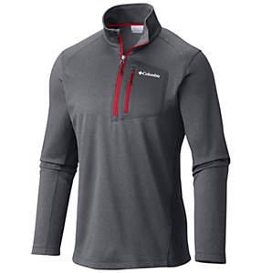 Men's Jackson Creek™ Half Zip Fleece Long Sleeve Shirt