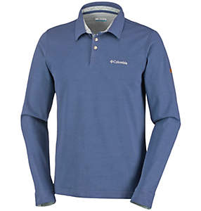 Men's Fields of Grey™ Long Sleeve Polo