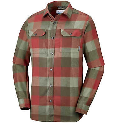 Men's Flare Gun™ Flannel III Long Sleeve Shirt , front