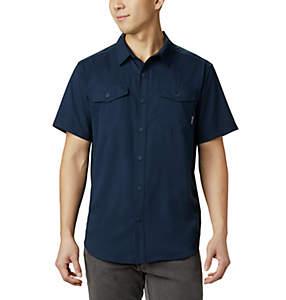 Camisa lisa de manga corta Utilizer™ II para hombre