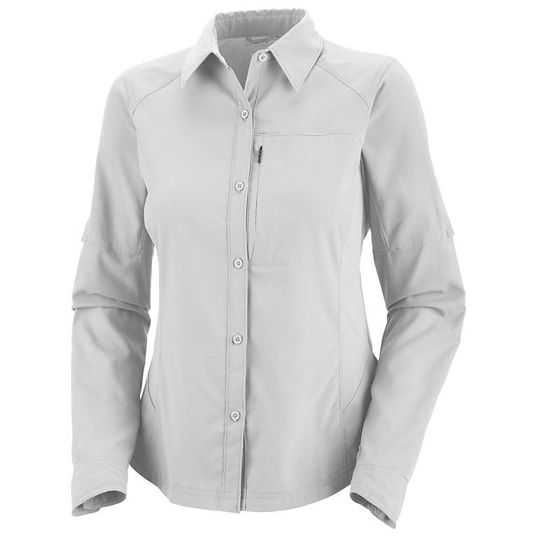 2df65792a0f White Women s Silver Ridge™ Long Sleeve Shirt - Plus Size