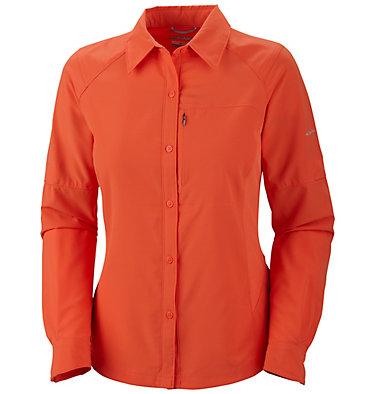Silver Ridge™ Langarm-Shirt für Damen – in Übergrößen , front
