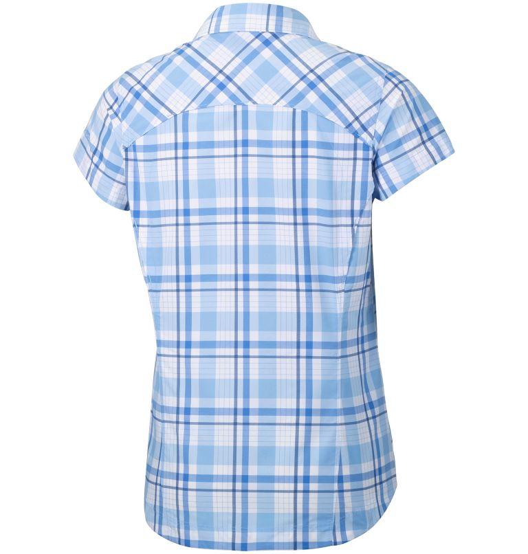 Women's Silver Ridge™ Multi Plaid Short Sleeve Shirt–Plus Size Women's Silver Ridge™ Multi Plaid Short Sleeve Shirt–Plus Size, back
