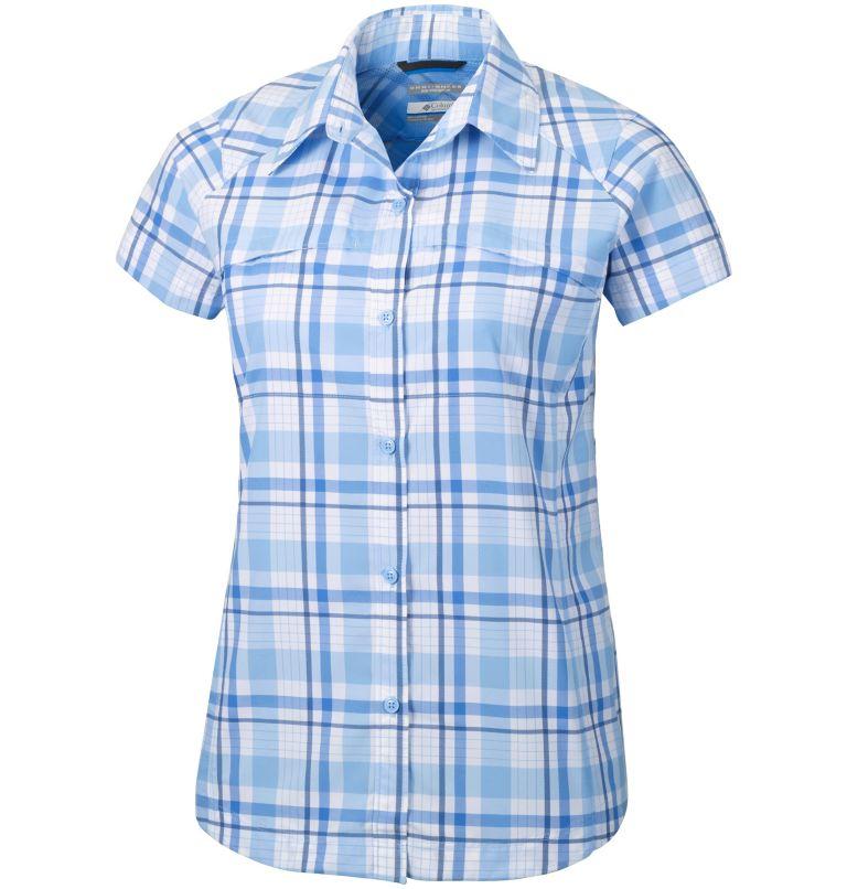 Women's Silver Ridge™ Multi Plaid Short Sleeve Shirt–Plus Size Women's Silver Ridge™ Multi Plaid Short Sleeve Shirt–Plus Size, front