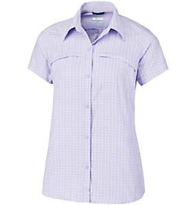 Women's Silver Ridge™ Multi Plaid Short Sleeve Shirt–Plus Size