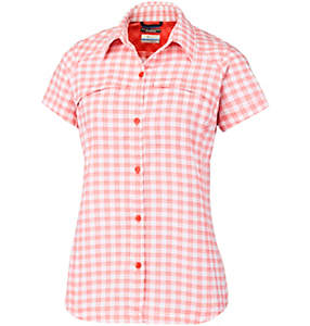 Women's Silver Ridge™ Multi Plaid Short Sleeve Shirt – Plus Size