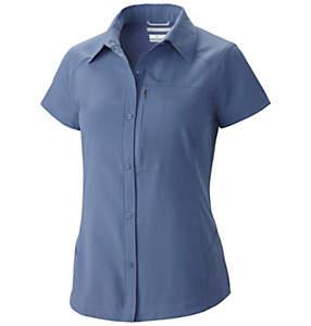 Camisa de manga corta Silver Ridge™ para mujer-tallas grande