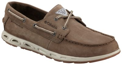 Men's Bonehead™ Vent Leather PFG Boat Shoe | Tuggl