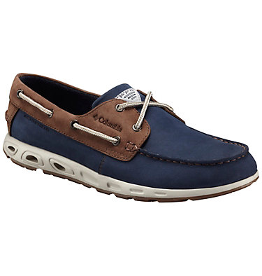 Men's Bonehead™ Vent Leather PFG Boat Shoe , front