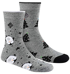 Kids' Novelty Giftbox Penguin Sock - 2PR