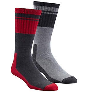 Men's Thermal Full Cushion Boot Sock - 2 Pack