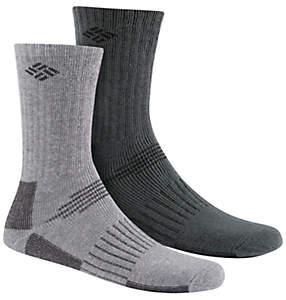 Men's Wool Blend Boot Crew Socks - 2PR