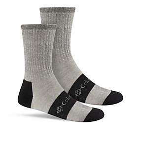 Men's Wool blend Rib Boot Crew Sock - 2PR