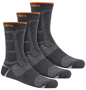 Men's Poly Mesh Cush Crew Sock