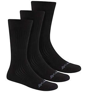 Men's Cotton Casual Rib Crew Sock - 3PR